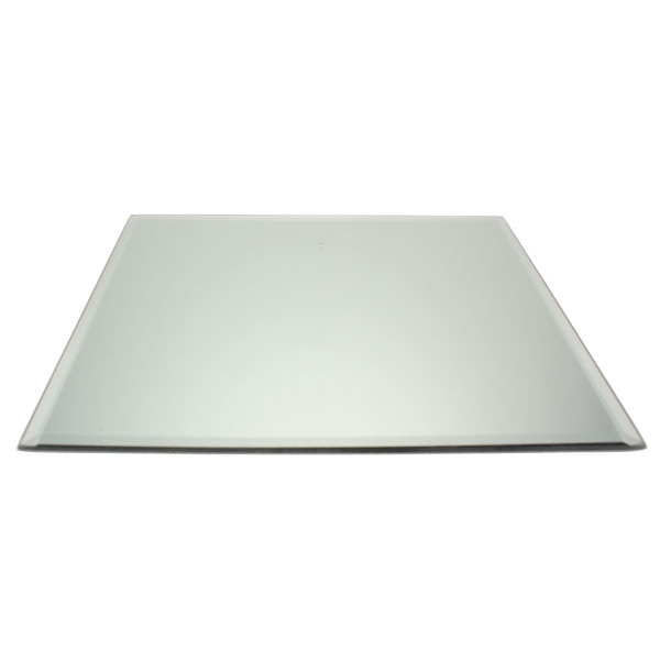 25cm Square Beveled Edge Mirror Base