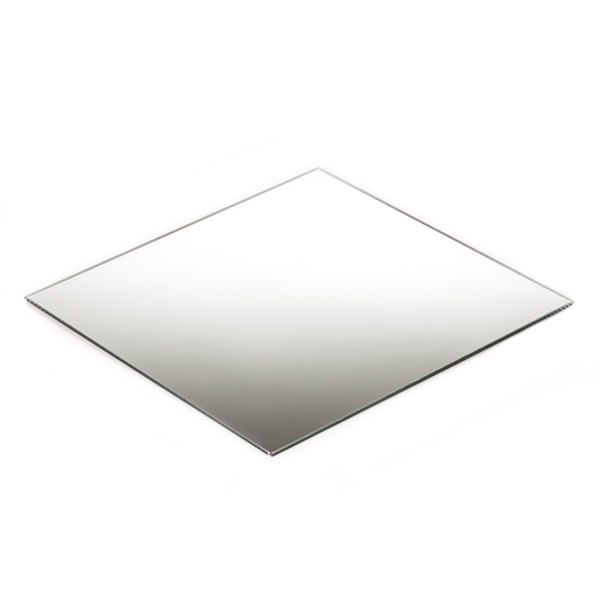 25cm Square Mirror Base