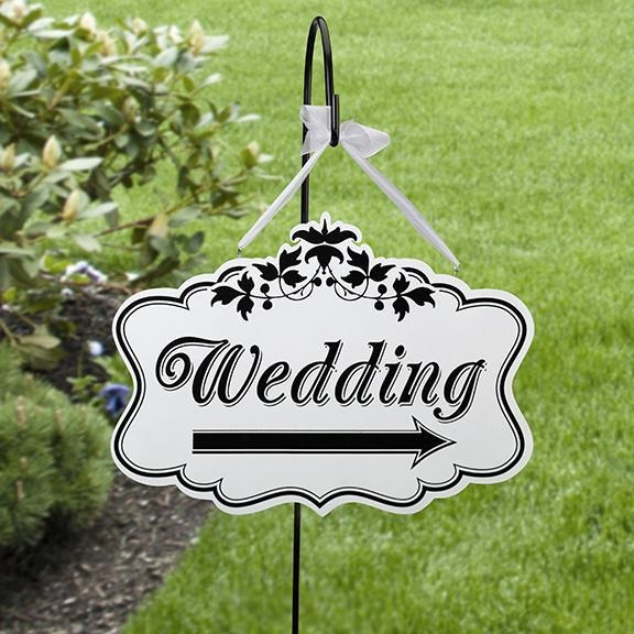 Wedding Directional Sign