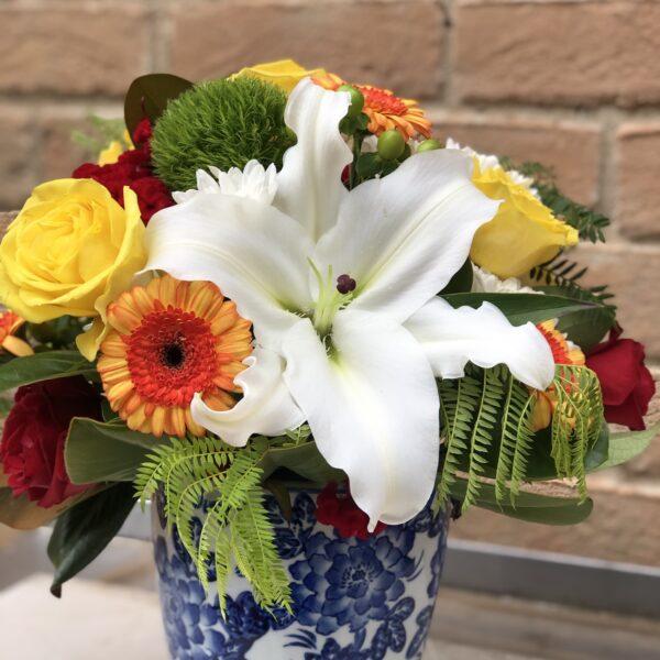 fresh flower Centrepiece (2)